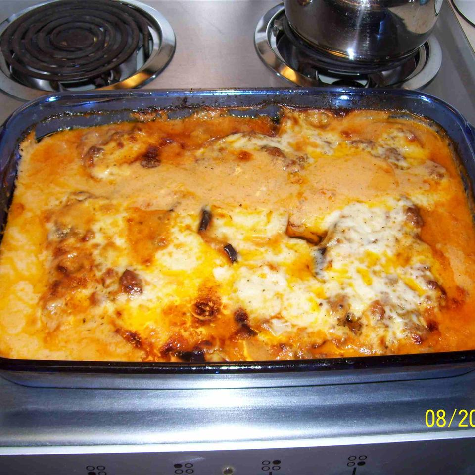 Grilled Eggplant Moussaka Anonymous