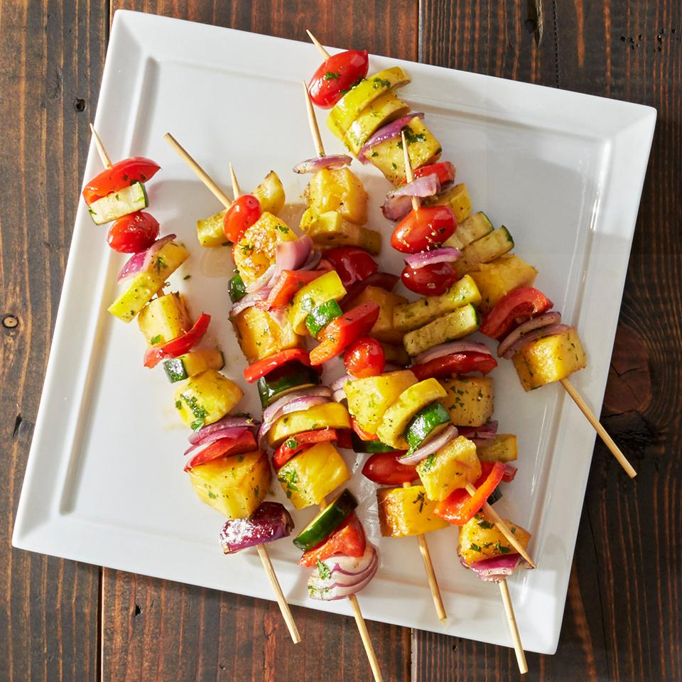 Grilled Fruit and Vegetable Kabobs Trusted Brands