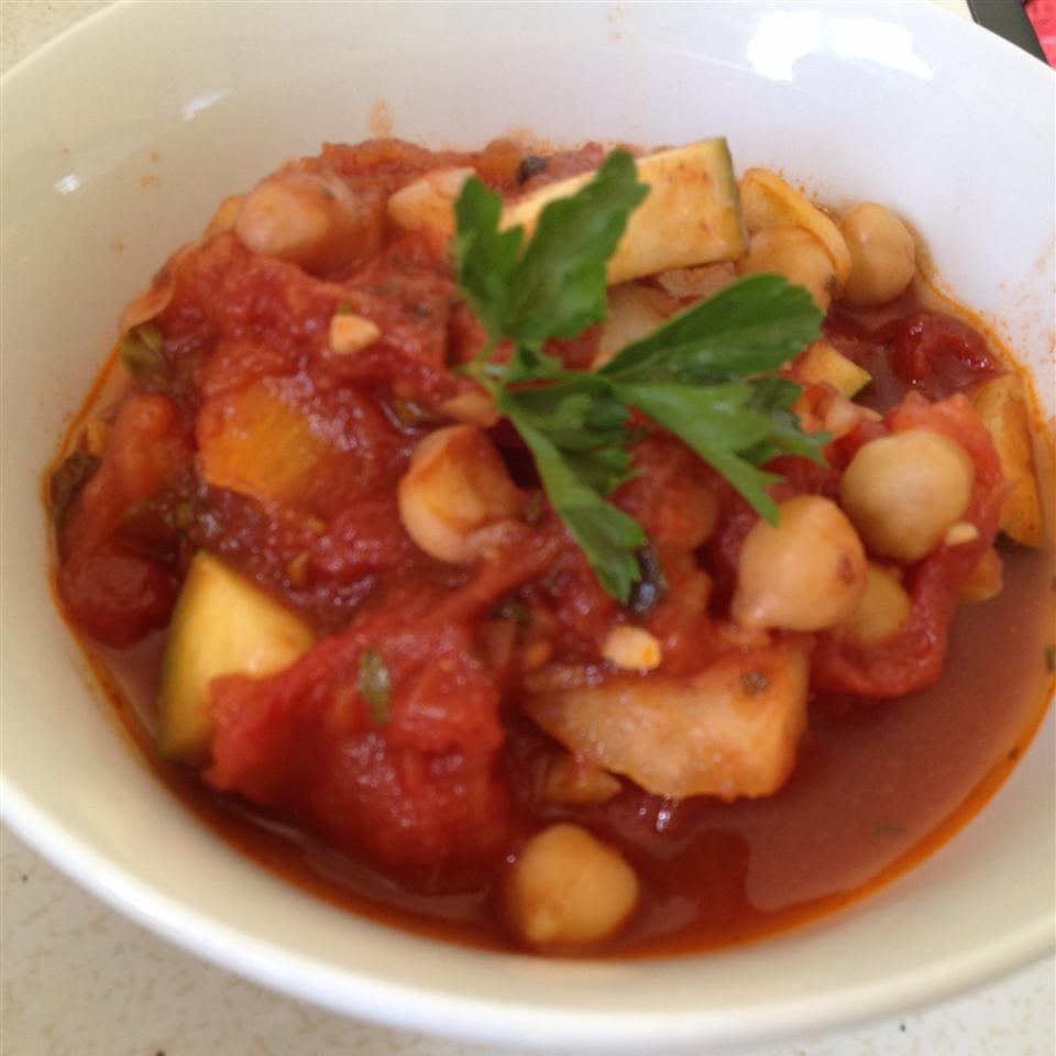Ratatouille with Chickpeas