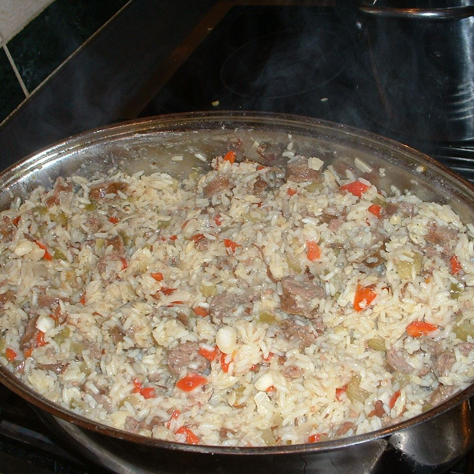 My Mom's Sausage & Rice Casserole brothers_w