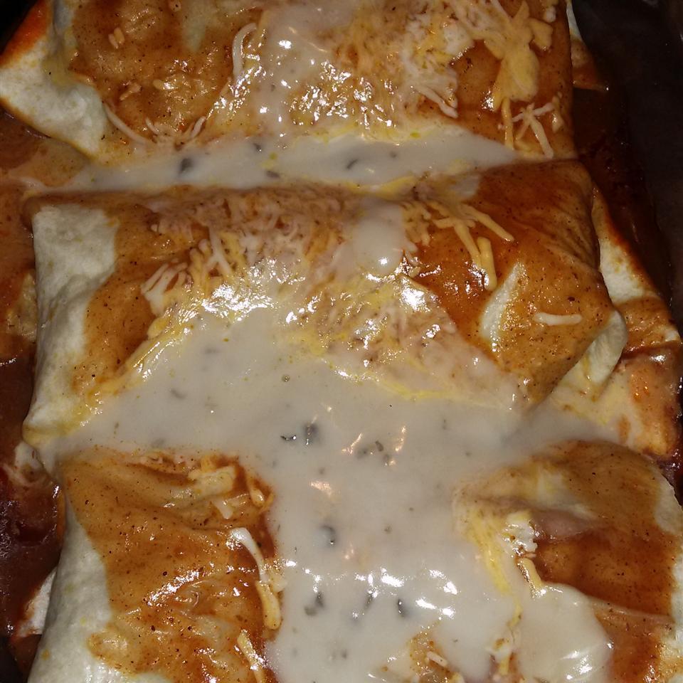 Easy Chicken Enchiladas from Campbell's Kitchen Latoya Outten
