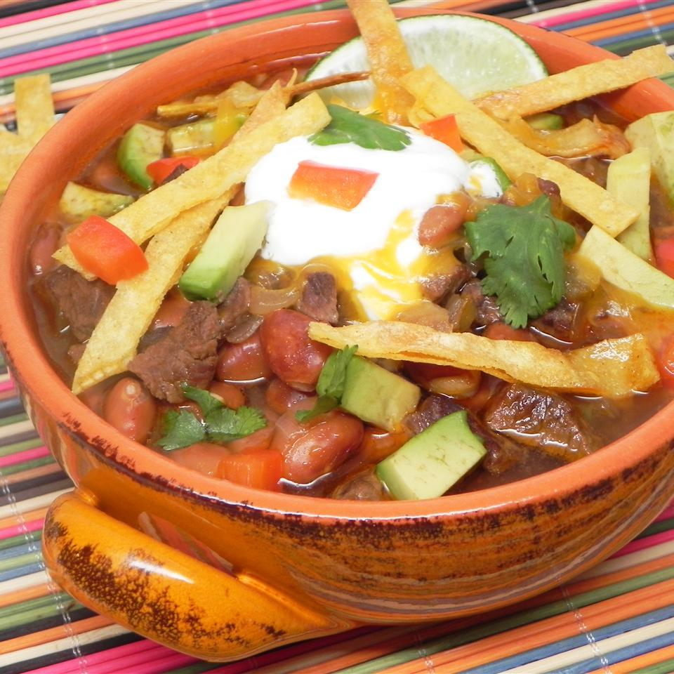 Mexican Chili Soup Soup Loving Nicole