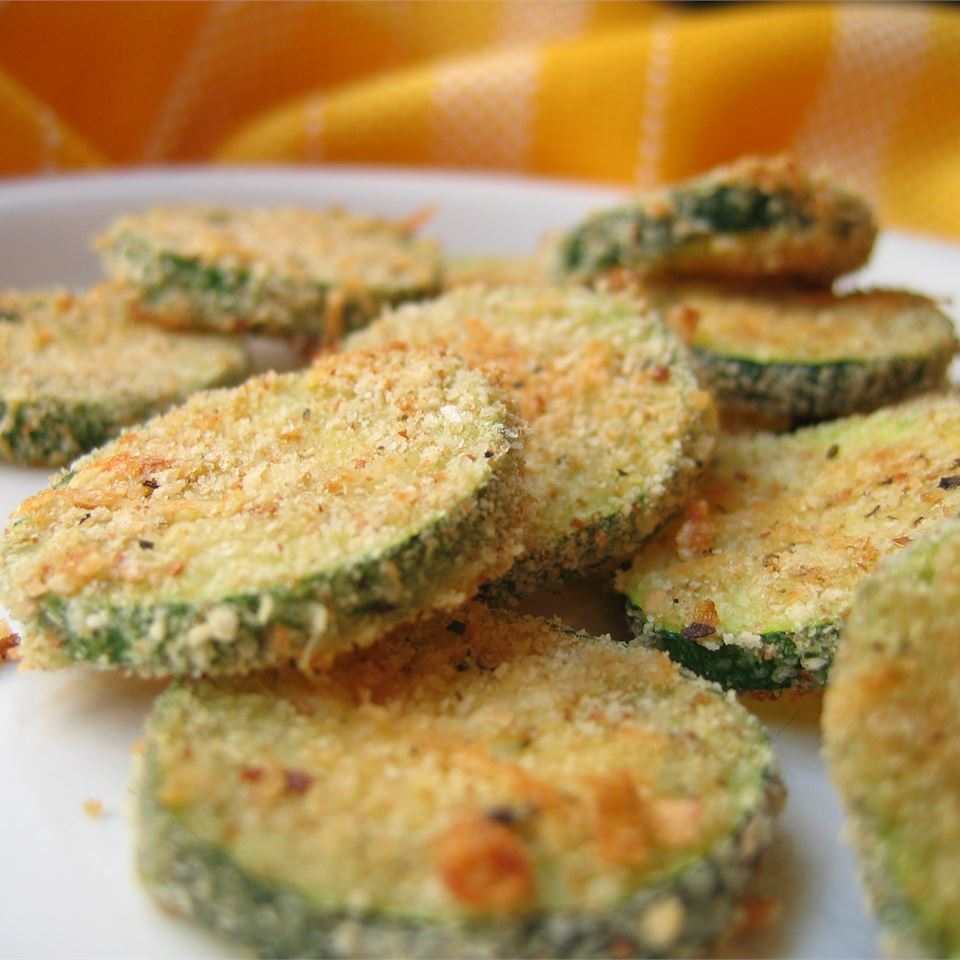 Quick Baked Zucchini Chips