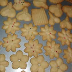 Swedish Ground Almond Spritz Cookies AKBELL