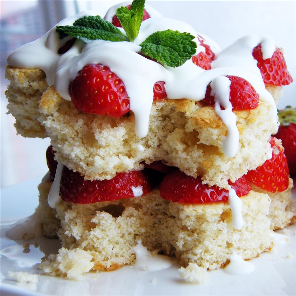Gluten-Free Strawberry Shortcake Buckwheat Queen