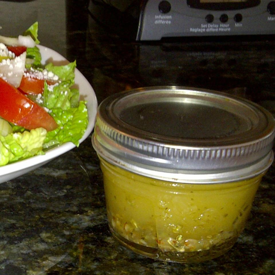 French Greek Salad Dressing the4taals