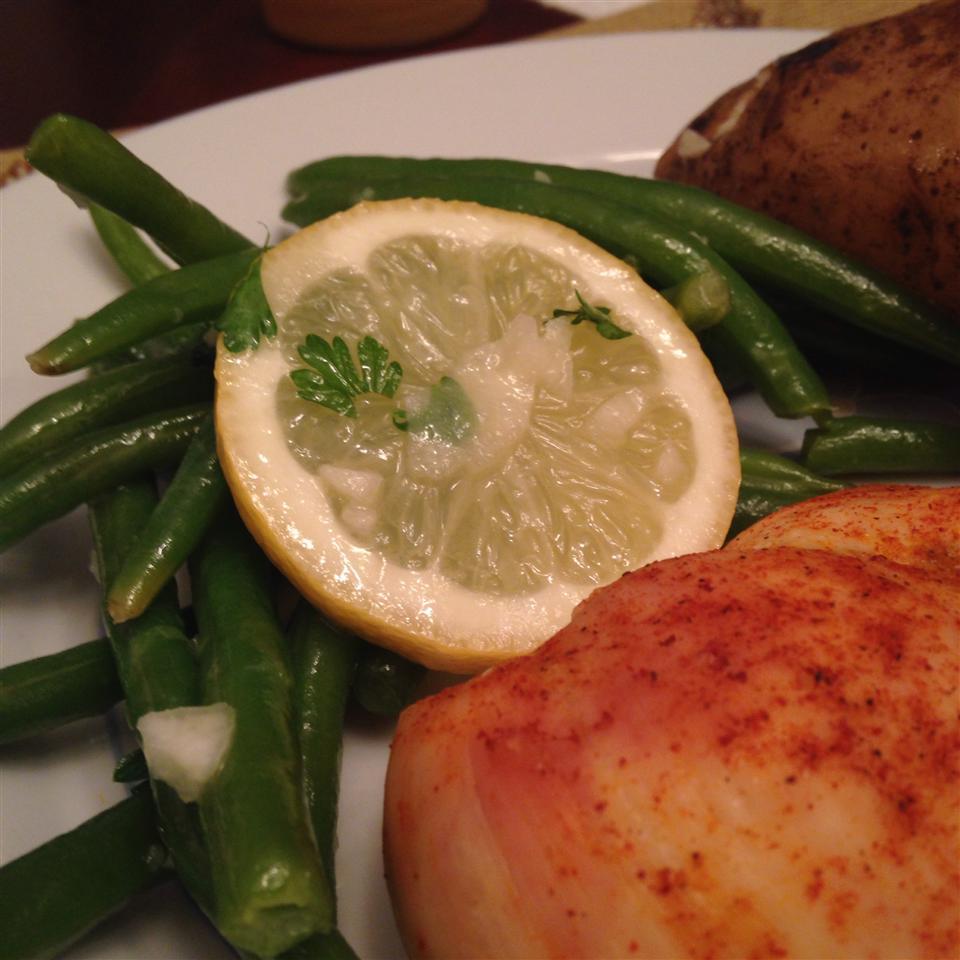Lemon-Parsley Green Beans Angelina Graham
