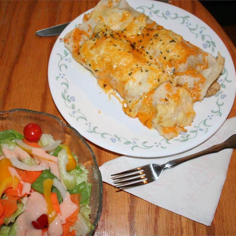 Chicken Enchiladas V MrCrackers