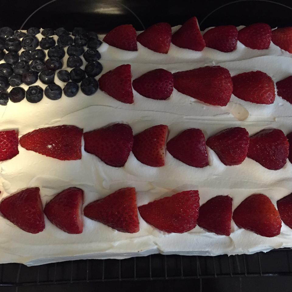 Red, White and Blue Strawberry Shortcake Daphne Woodman