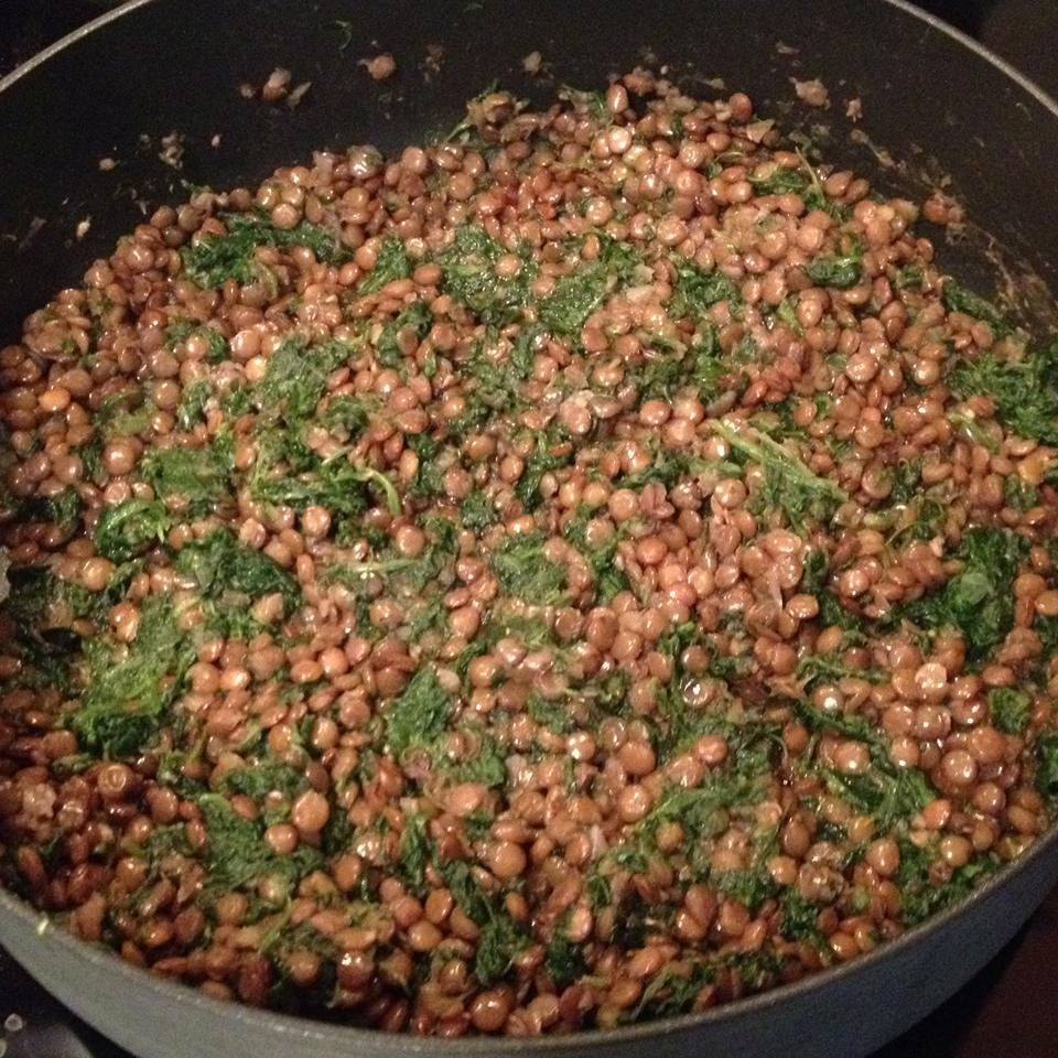 Lentils And Spinach CrystalL