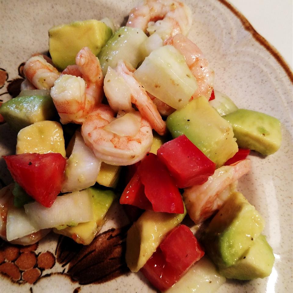 Avocado-Shrimp Salad