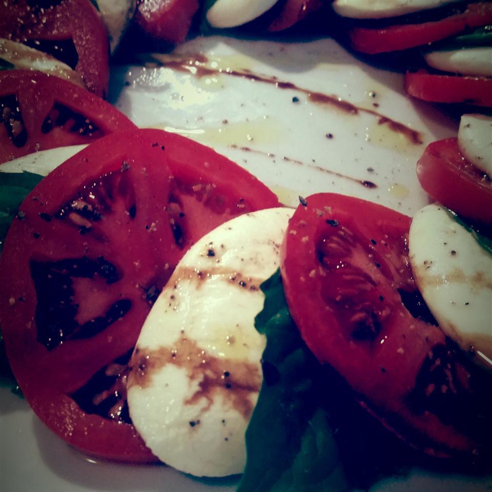 Owen's Mozzarella and Tomato Salad Dayna Mortenson