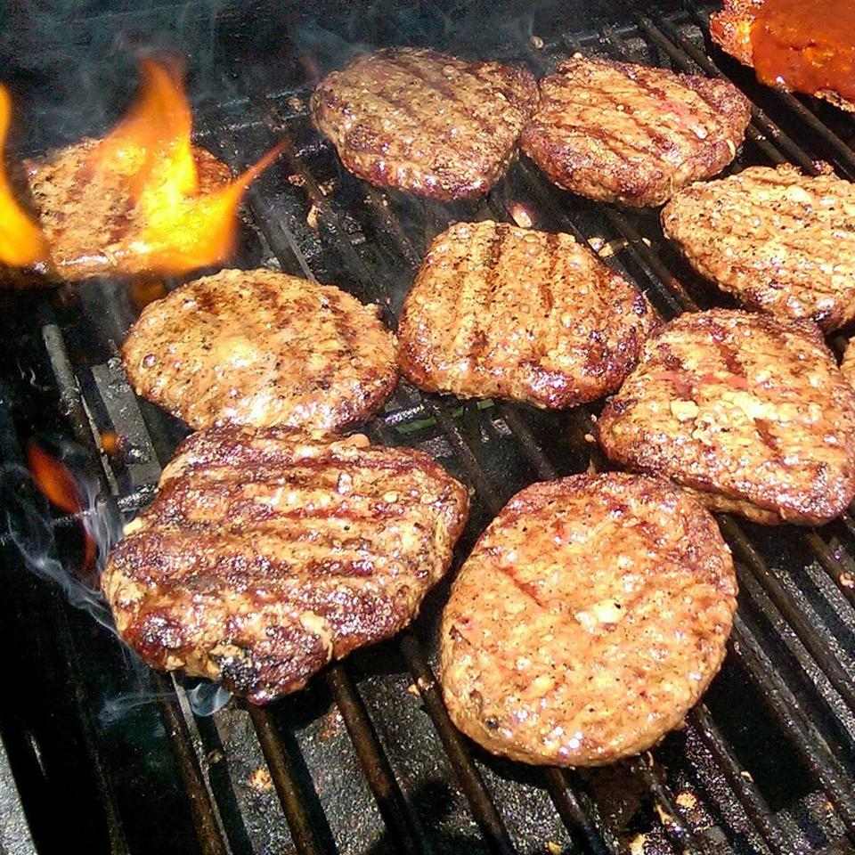 Delicious Grilled Hamburgers RainbowJewels