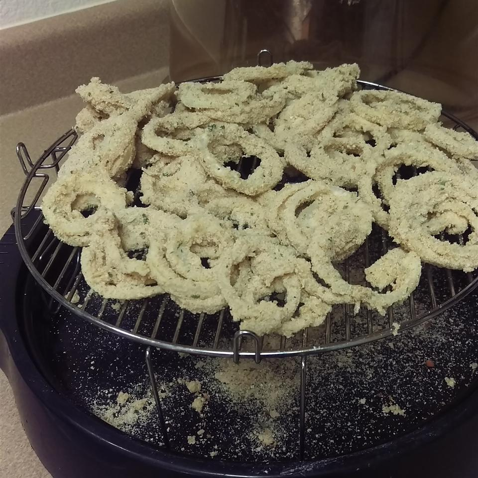 Sweet Baked Onion Rings Summer Collman