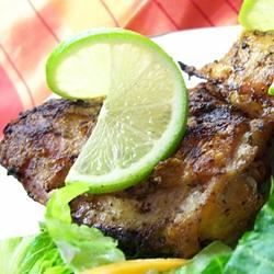 Lime-Tarragon Grilled Chicken Traci-in-Cali