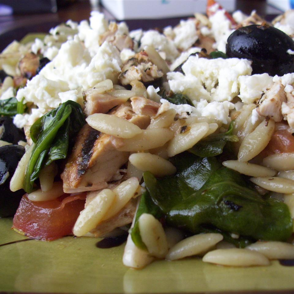 Hot Greek Salad Chef V
