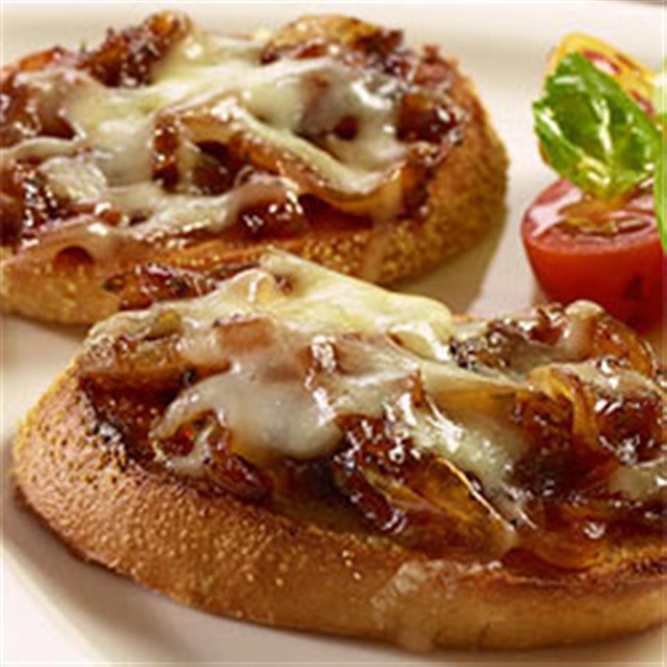 French Onion Bruschetta