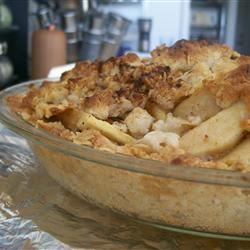 Dutch Apple Pie with Oatmeal Streusel Marvelous