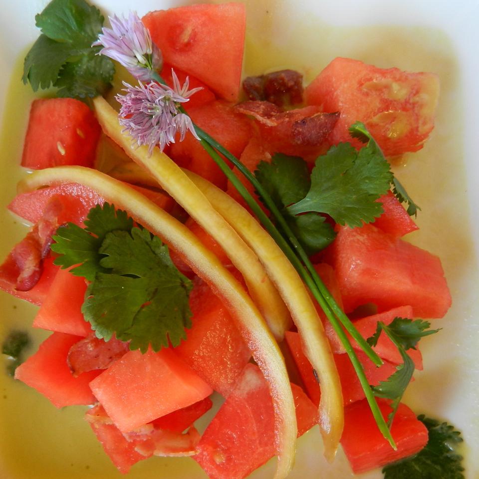 Malaysian Watermelon Salad