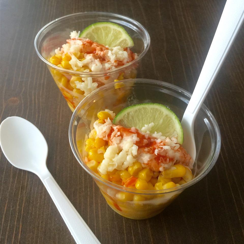 Corn in a Cup (Elote en Vaso)