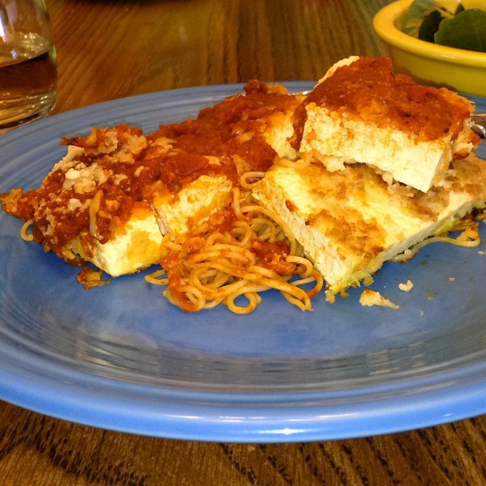Tofu Parmigiana MMMICHELLE