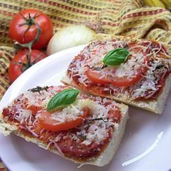 Easy Tomato-Basil Pizza Traci-in-Cali
