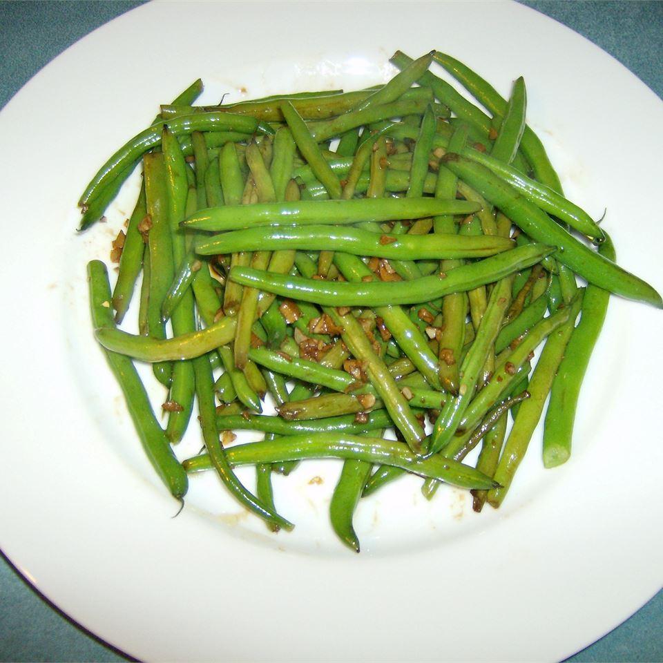Dad's Pan-Fried Green Beans hba