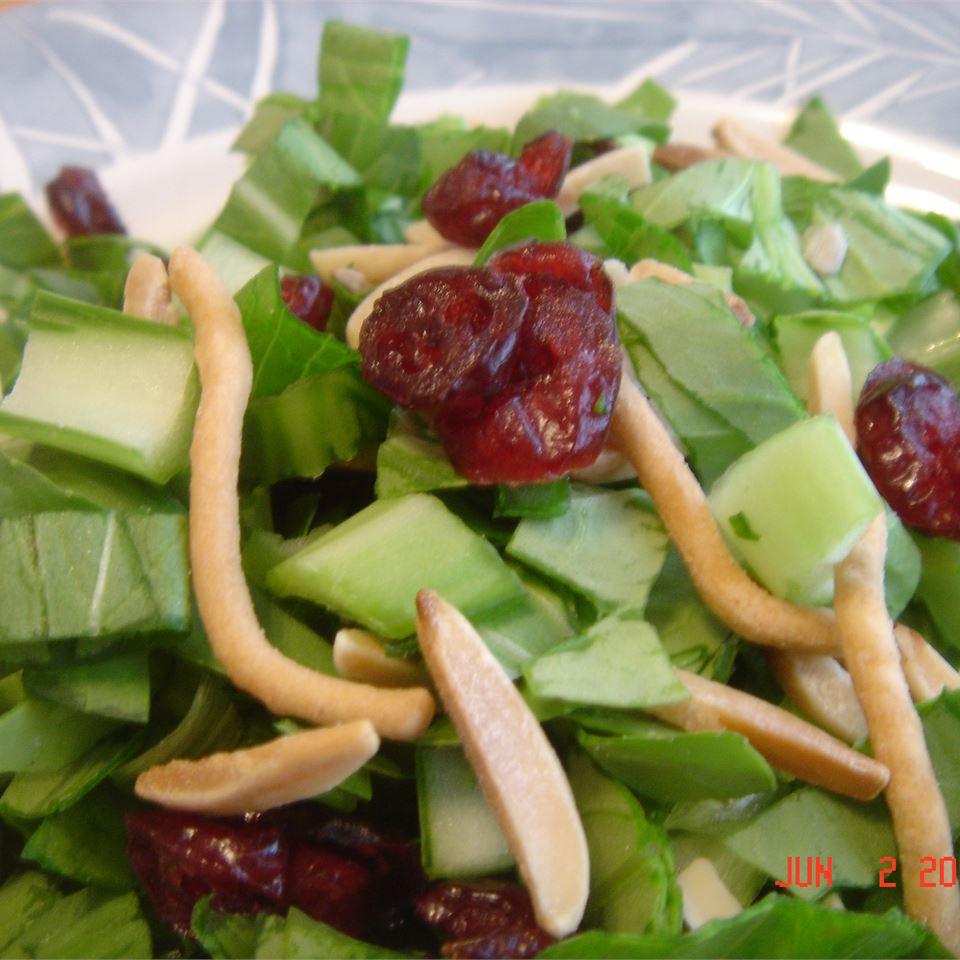 Yummy Bok Choy Salad Kelly Krocker