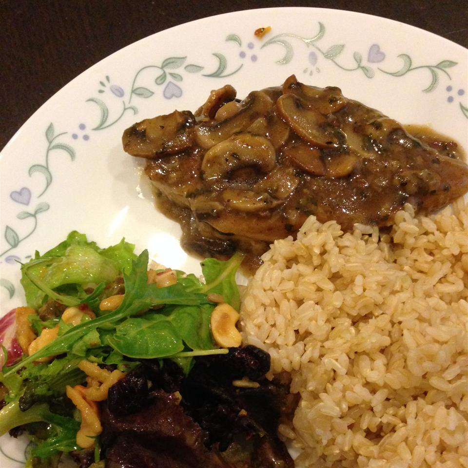 Chicken and Mushroom Saute Christabelle