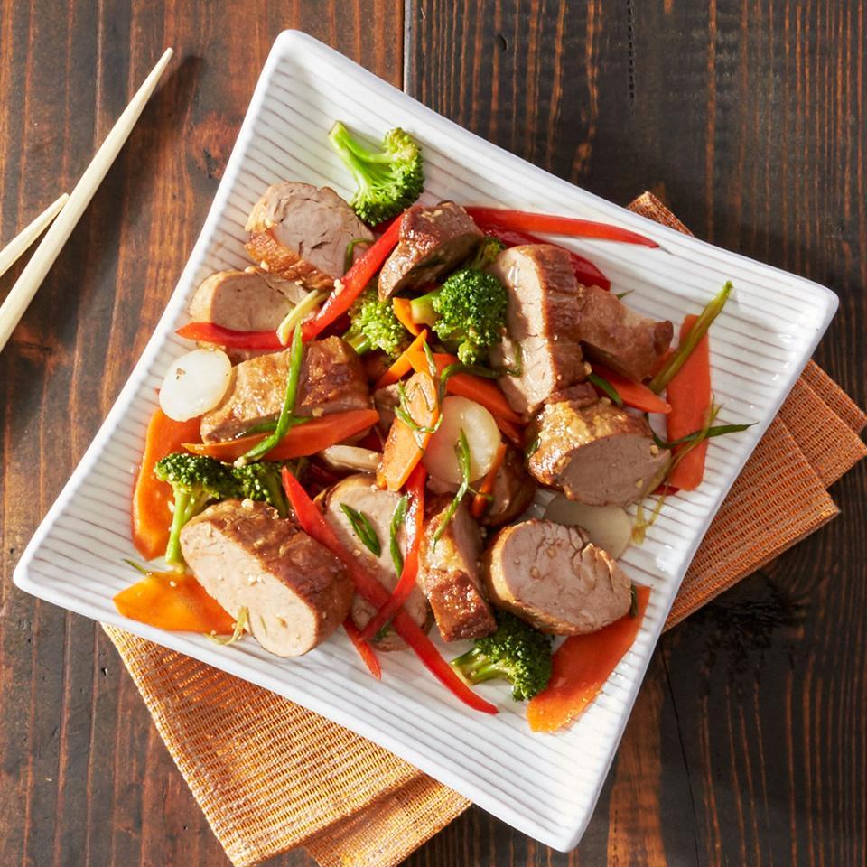 Asian Pork Tenderloin Packets
