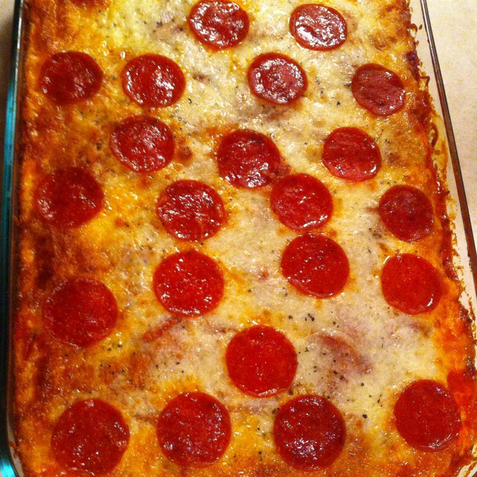 Spaghetti Pizza I Abby