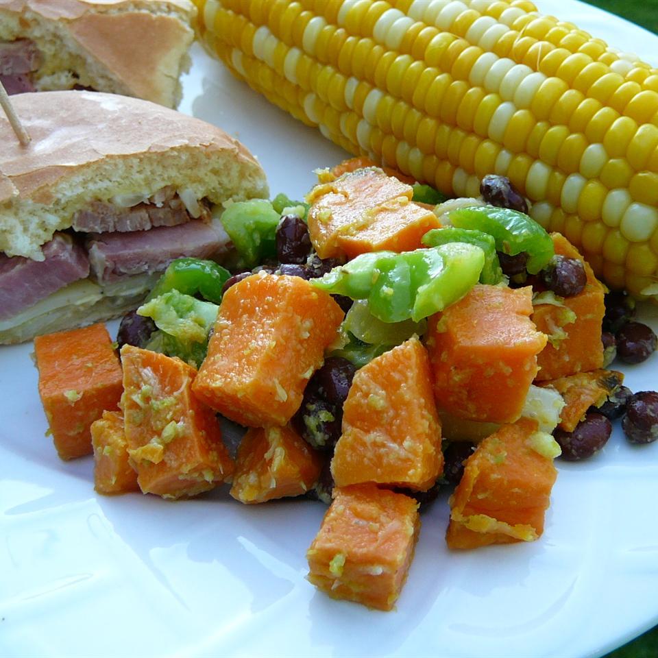 Sweet Potato and Black Bean Salad Molly