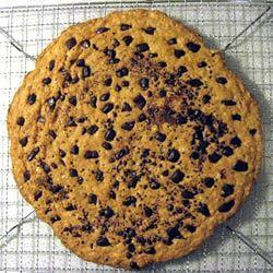 Pizza Pan Oatmeal Cookie Lisa