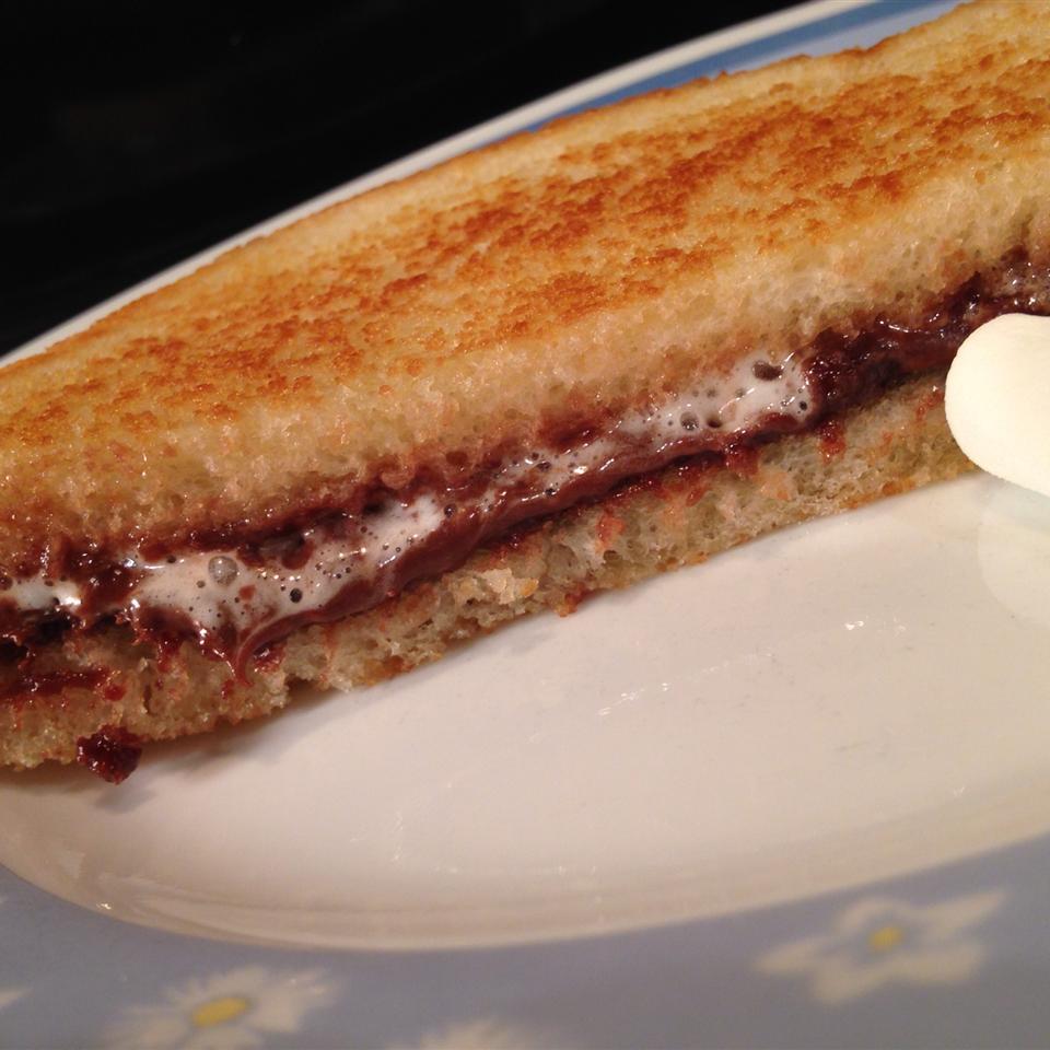 Grilled Marshmallow Nutella® bikerfamily