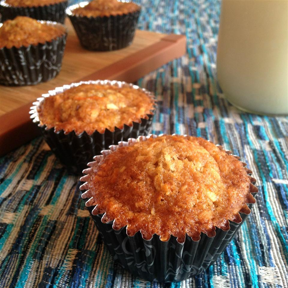 Chocolate Chip Carrot Cake Muffins