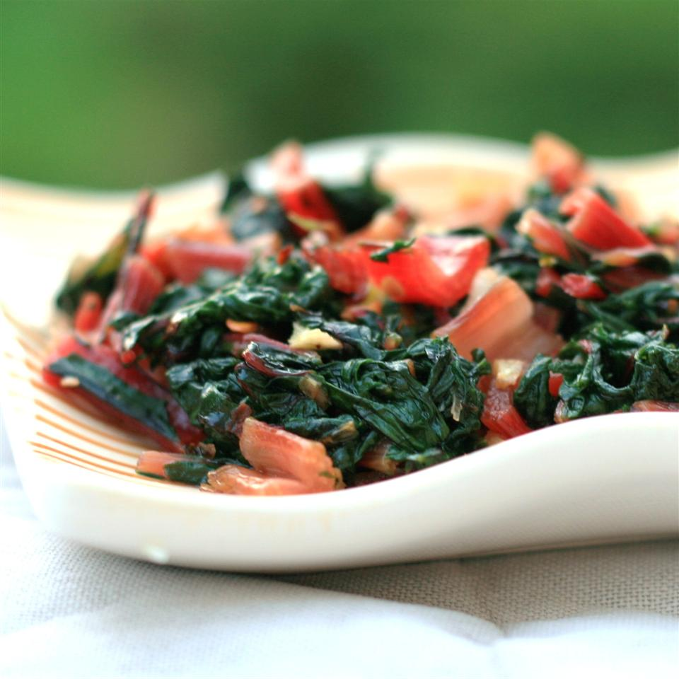 Balance out more decadent sides with simple, garlicky Italian-Style Swiss Chard.