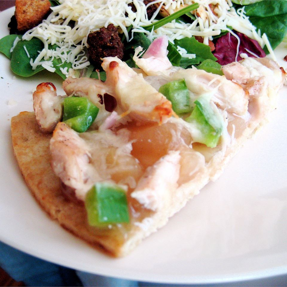 Gourmet Chicken Pizza Haylee