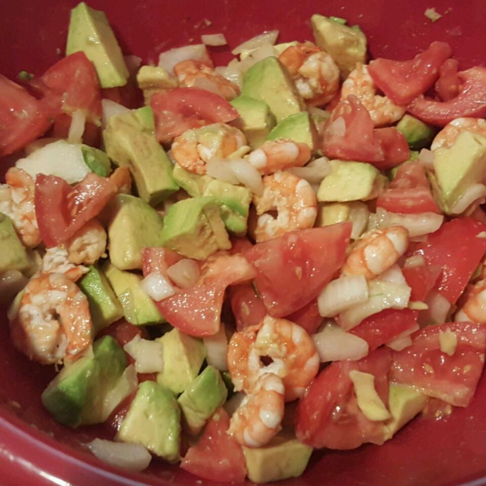 Avocado-Shrimp Salad BStarr