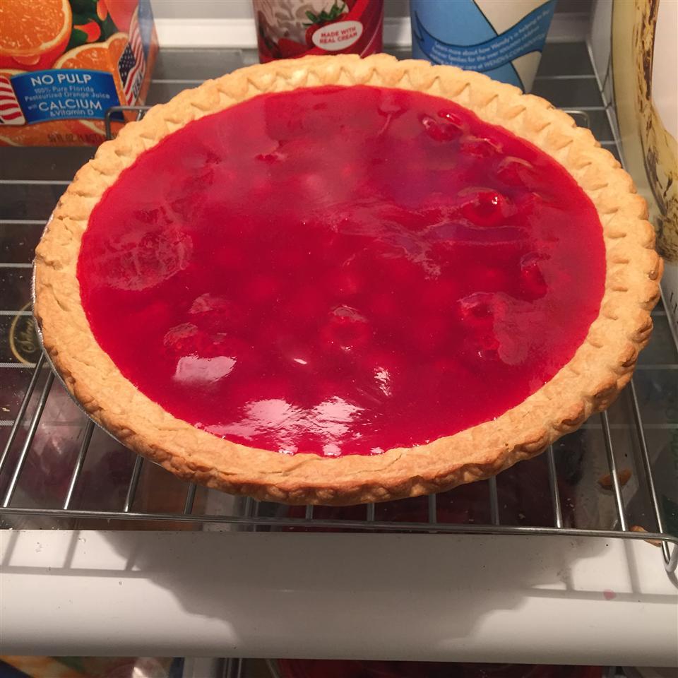 Maggie's Fresh Raspberry Pie