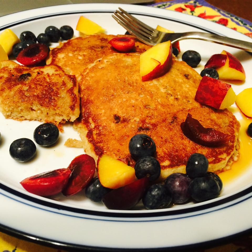 Overnight Raisin Oatmeal Pancakes Ruth Weltman Reedy