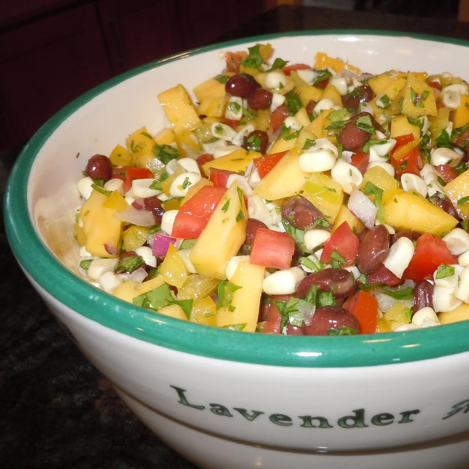 Black Bean Mango Salsa Sharyn