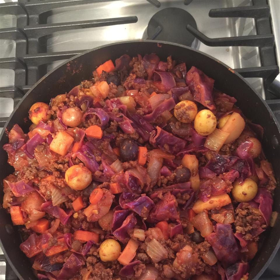 Ethiopian Vegetable Bowl