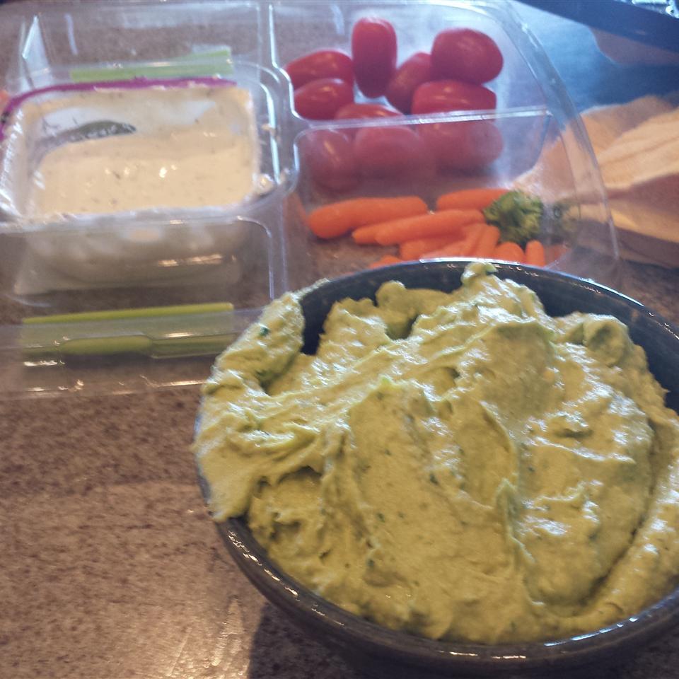 Avocado Lime Hummus Shelby Riggs Hudson