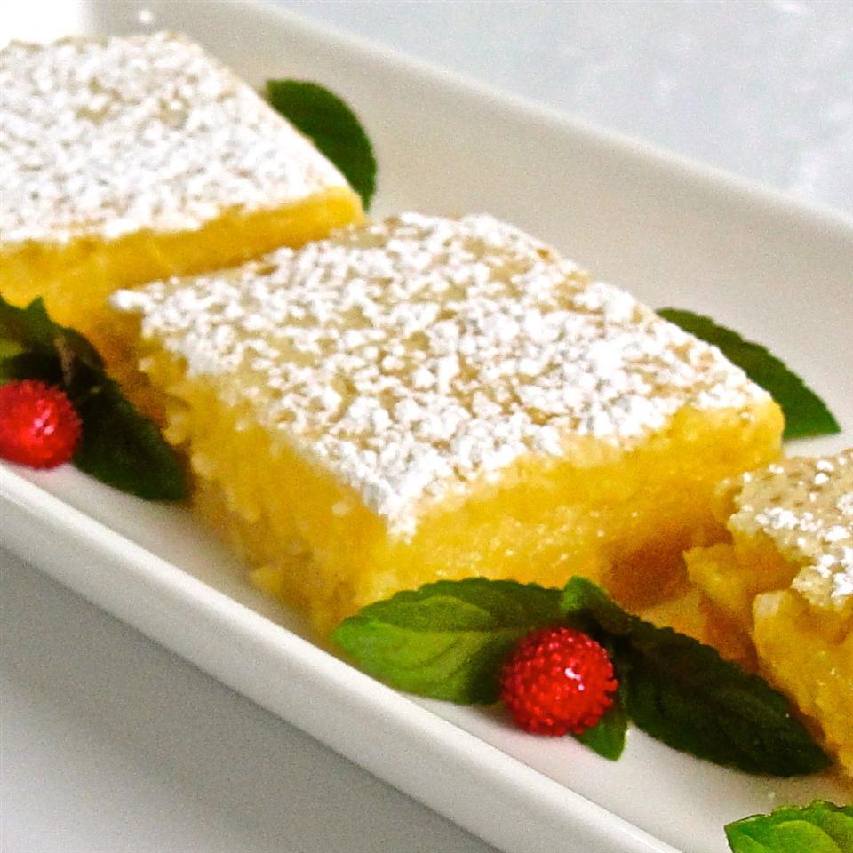 Luscious Lemon Triangles SHORECOOK