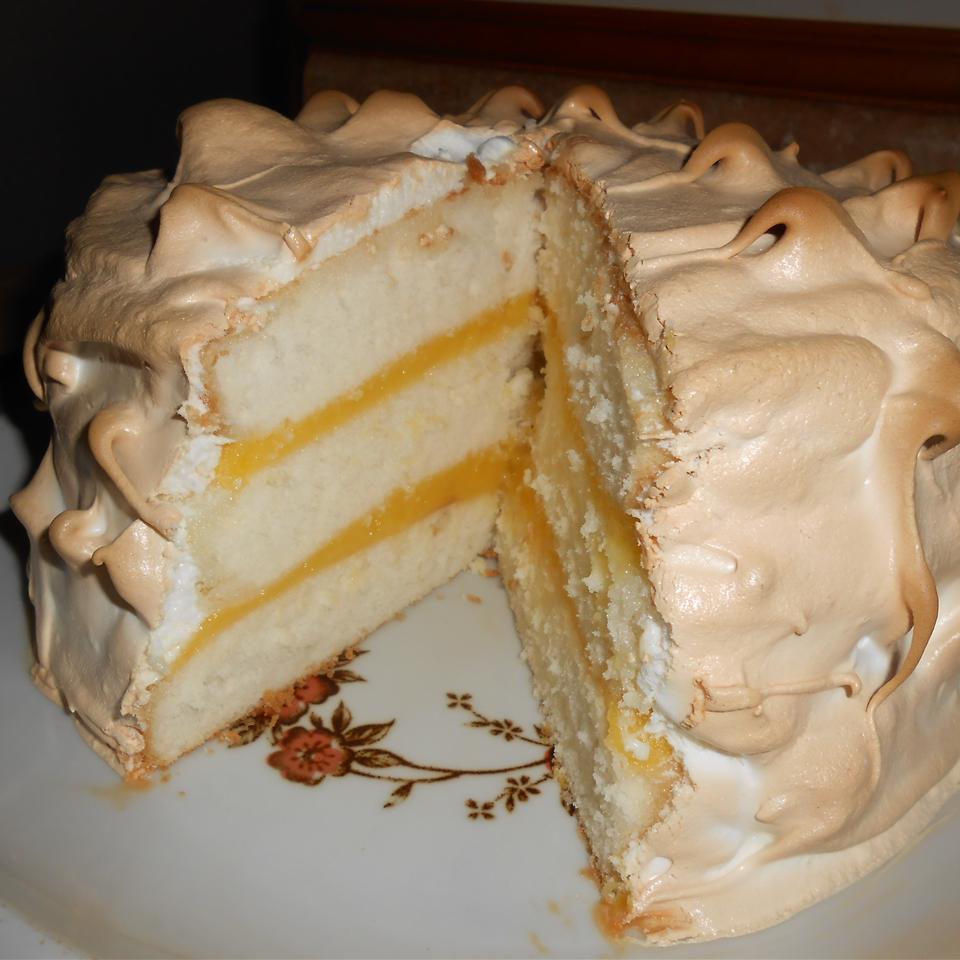 Lemon Meringue Cake