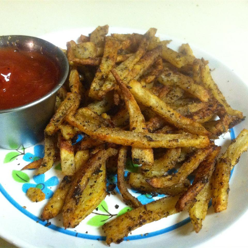 Cajun Baked French Fries Jamie Lewis