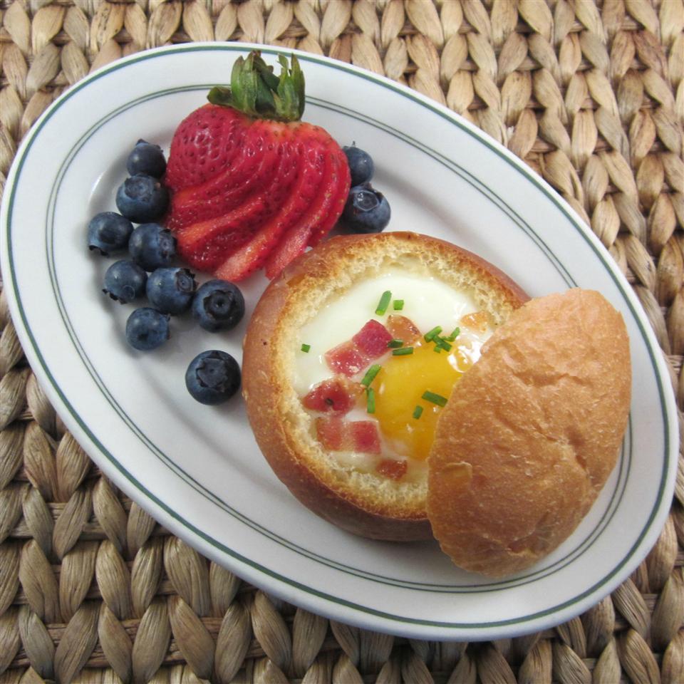 Cheesy Egg-in-a-Bowl Deb C