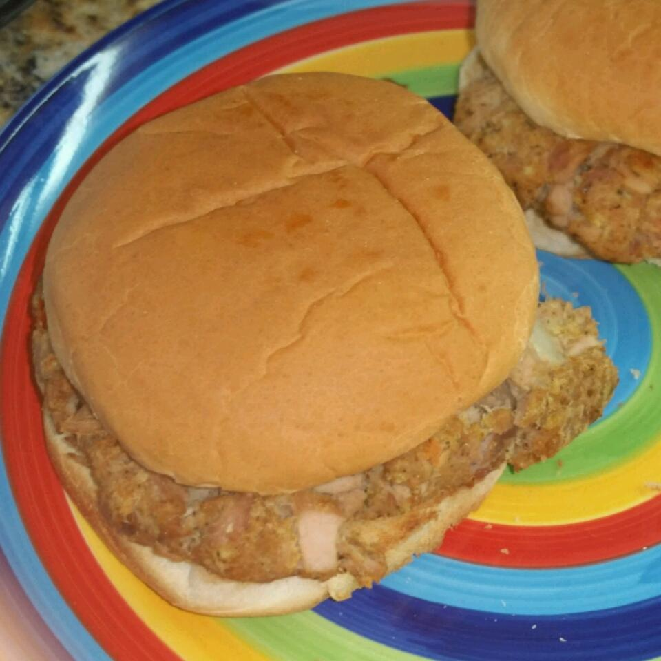 Thirty-Minute Baked Tuna Burgers