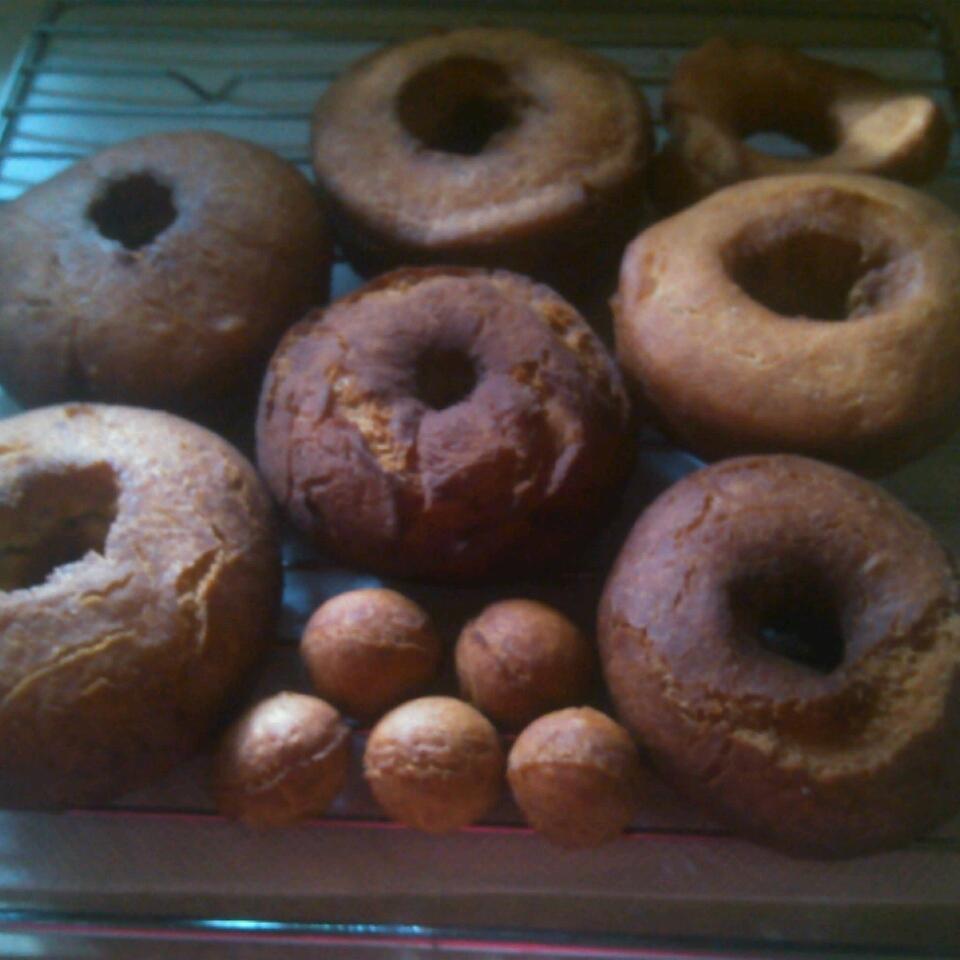 Plain Cake Doughnuts