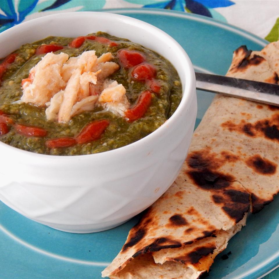Trinidadian Callaloo Soup